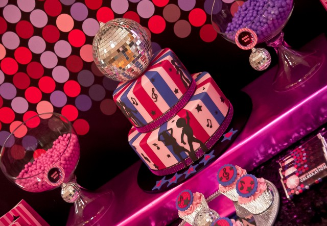 Disco Party Cake Images : Pink Disco Teen Tween Birthday Party - Anders Ruff Custom ...