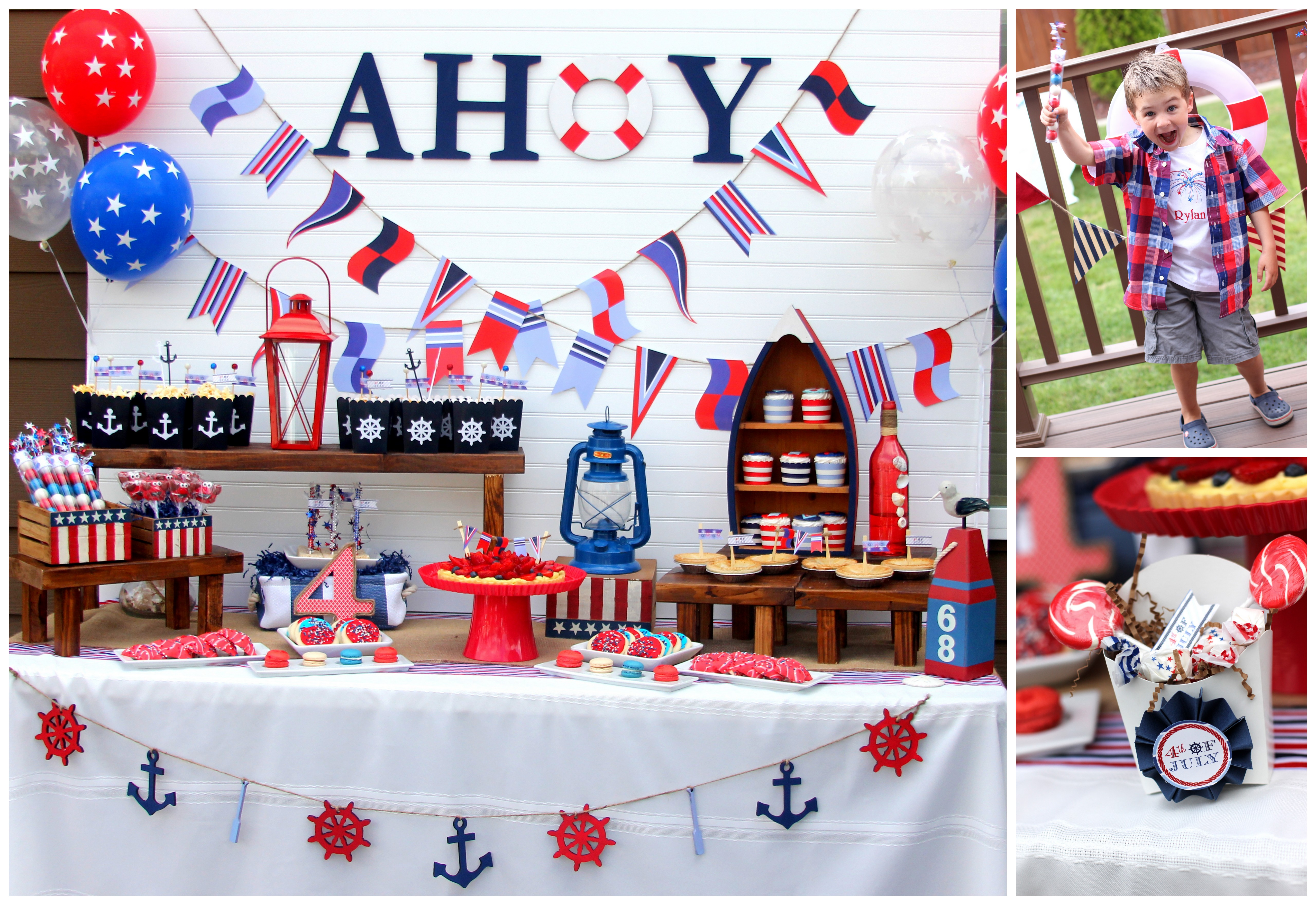 Creative nautical 4th of july ideas anders ruff custom for 4th of july party ideas for adults