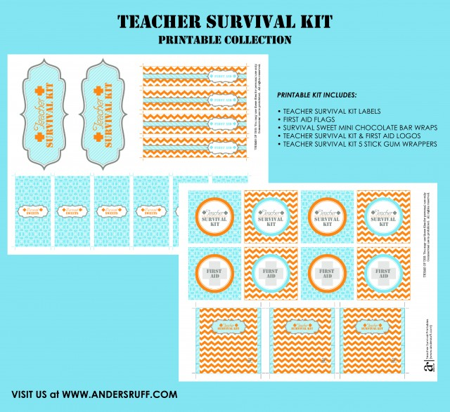 Ruff Draft: DIY Teacher Survival Kit - Anders Ruff Custom ...