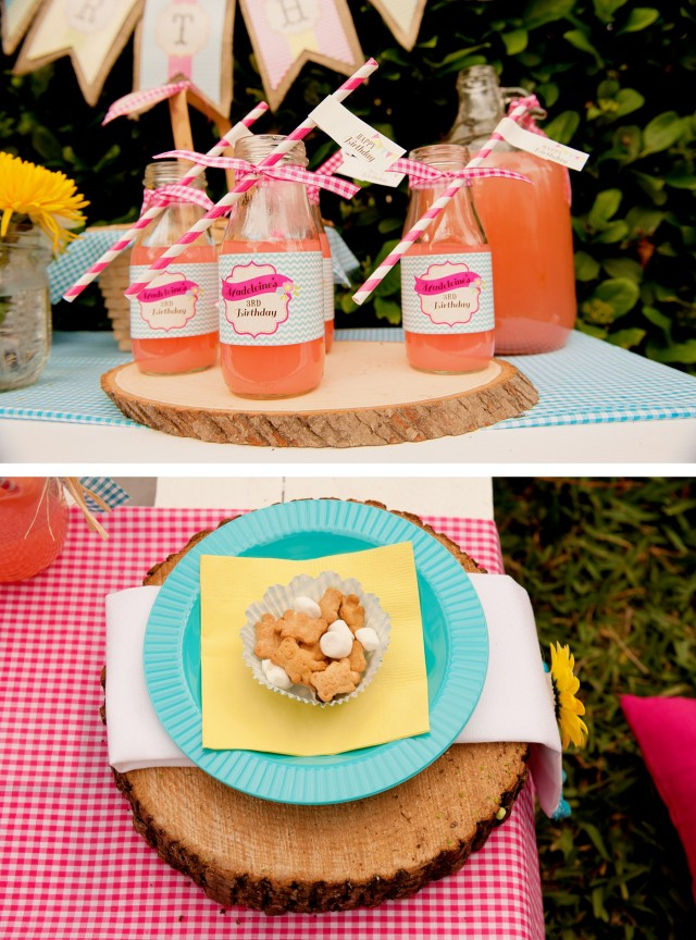 teddy bear picnic drinks