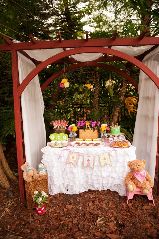 teddy bear picnic party desserts
