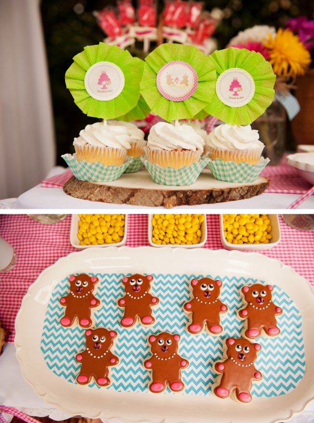 teddy bear picnic cookies