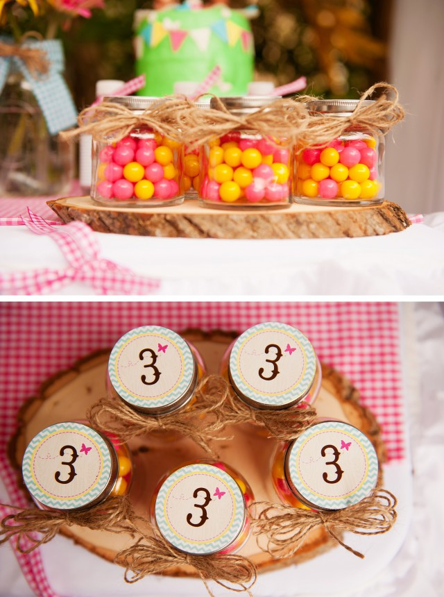 teddy bear picnic favor ideas