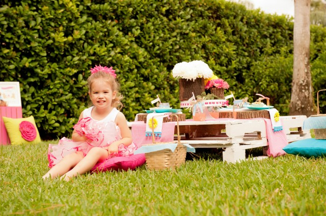 teddy bear picnic girls party ideas