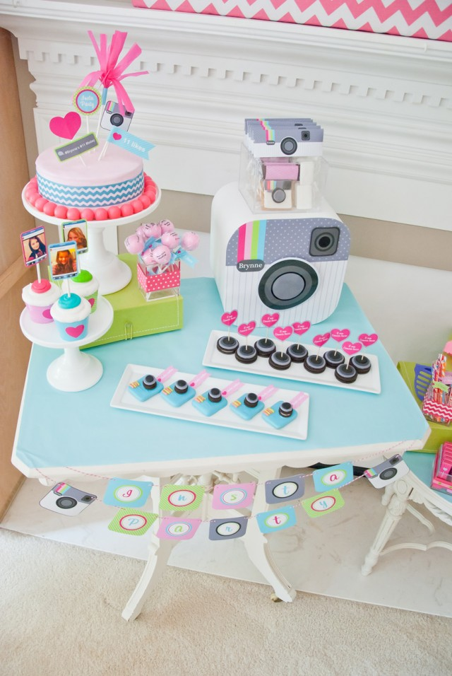 "Tween Teen ""Insta-Party"" Instragram Birthday Party"