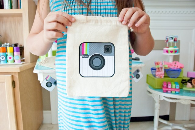 instagram party favor bag
