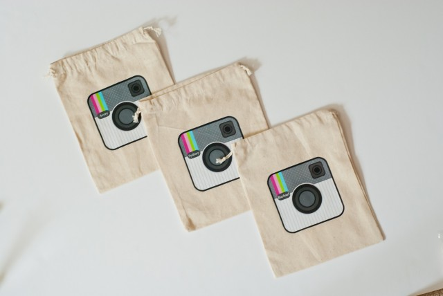 instagram party favor bags