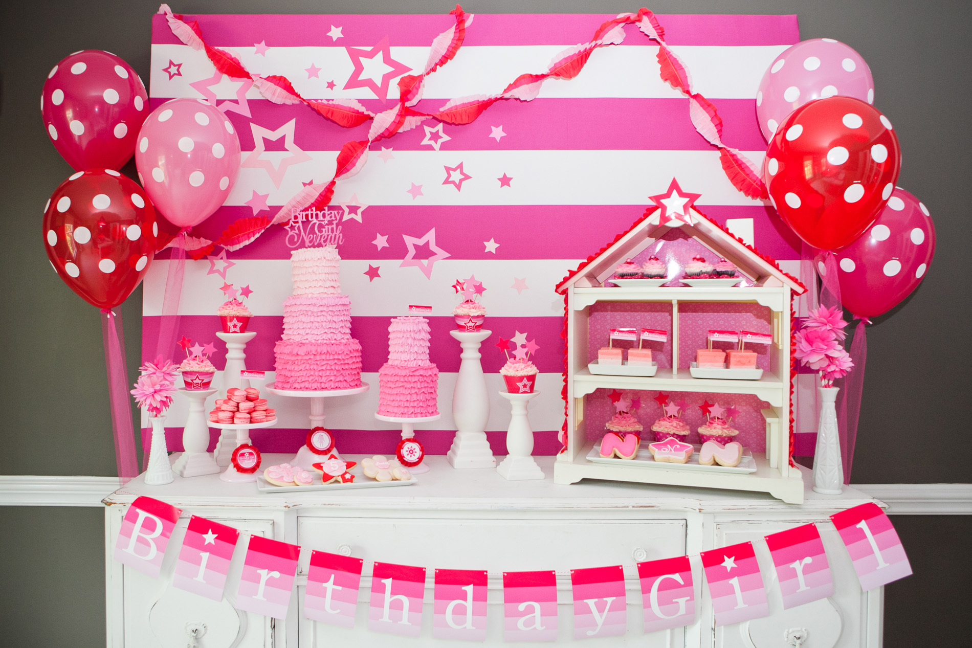 Girl Birthday Party Themes Ideas For Girls