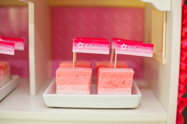 ombre marshmallows