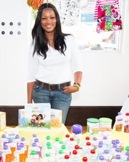Garcelle beauvais at I am Mixed book launch