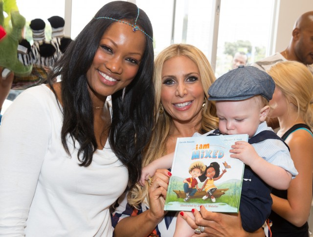 Garcelle Beauvais and Anya Sarre at I am Mixed book launch
