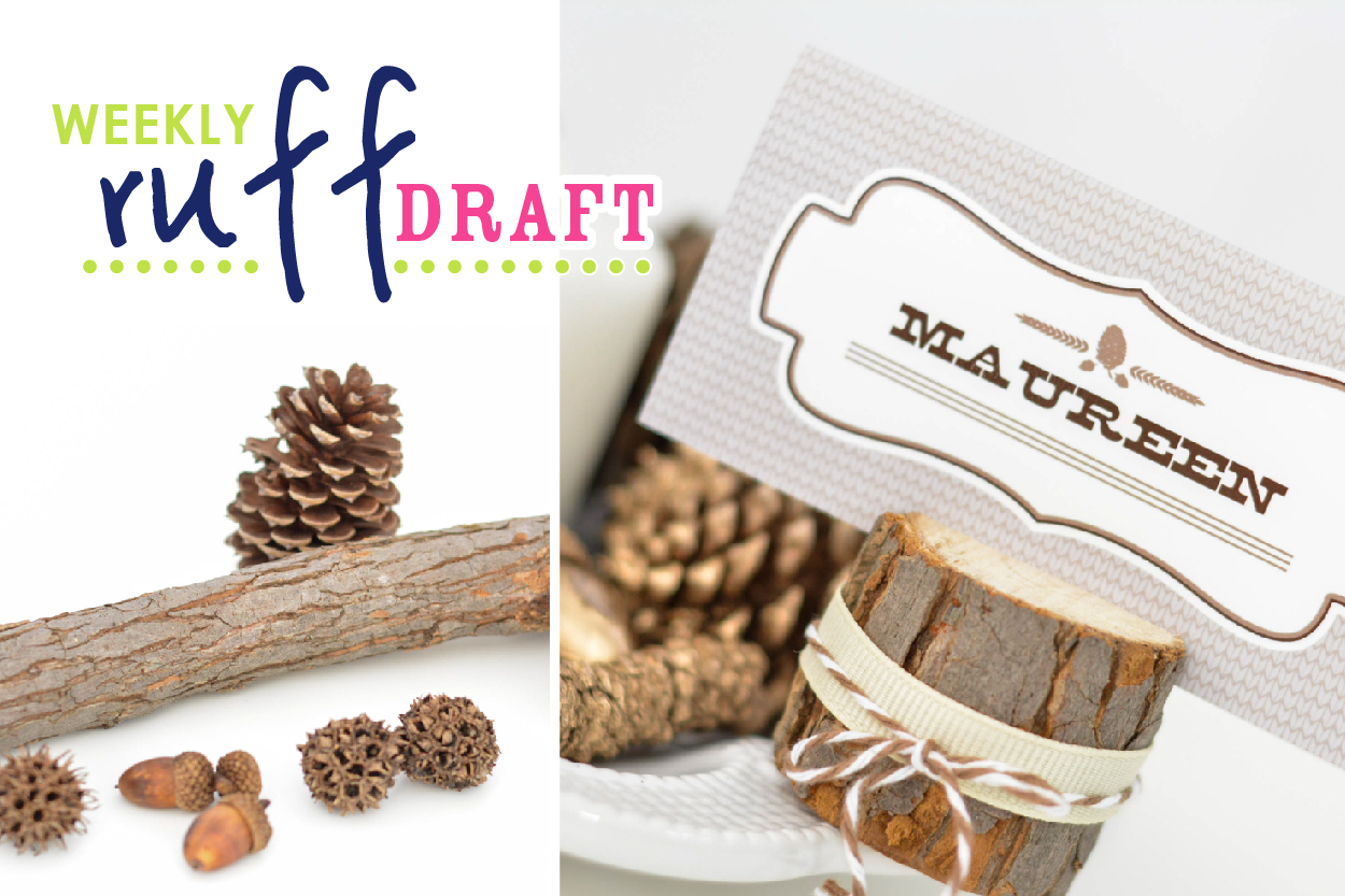 Tips for fall ruff draft burlap acorns for the fall