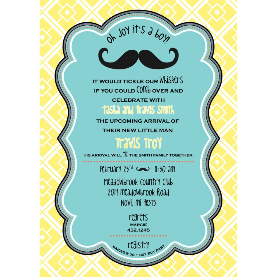 Luscious image in printable baby shower invites