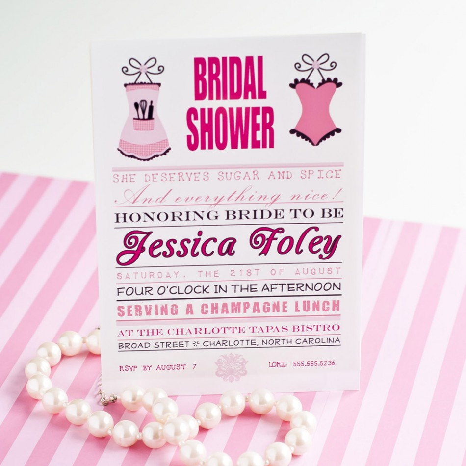 Bridal Shower Party Themes Anders Ruff Custom Designs LLC – Bridal Shower and Bachelorette Party Invitations
