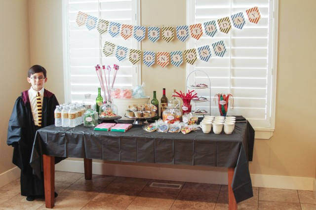 A Magical Wizard Party For Harry Potter Lovers