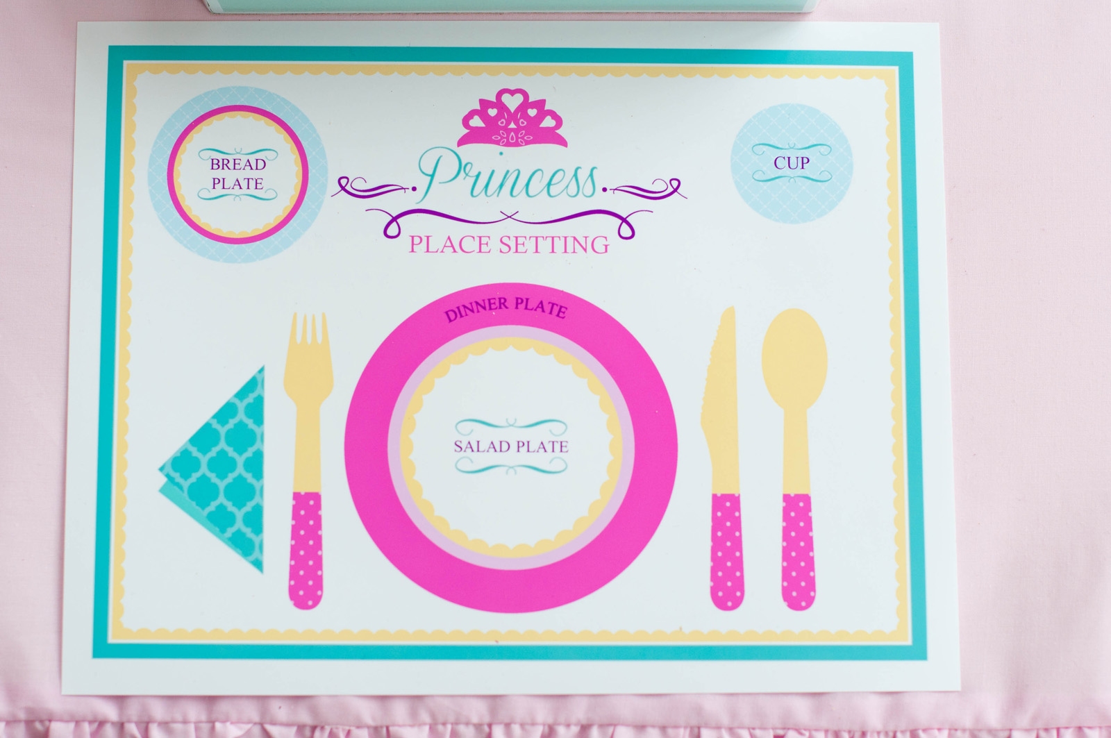 A Swan Princess Party - Making Manners Fun! - Anders Ruff Custom ...