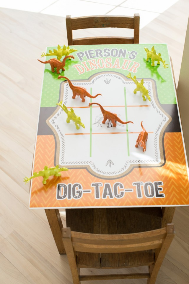 dinosaur printable game