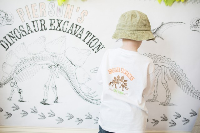 dinosaur coloring wall activity