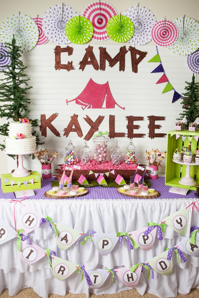 Campout Birthday Party Invitations as awesome invitations example