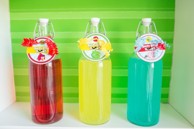angry bird party drinks