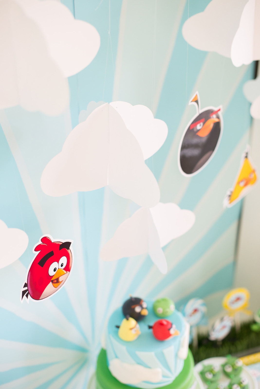 Angry birds hanging decor tutorial anders ruff custom for Angry bird decoration ideas