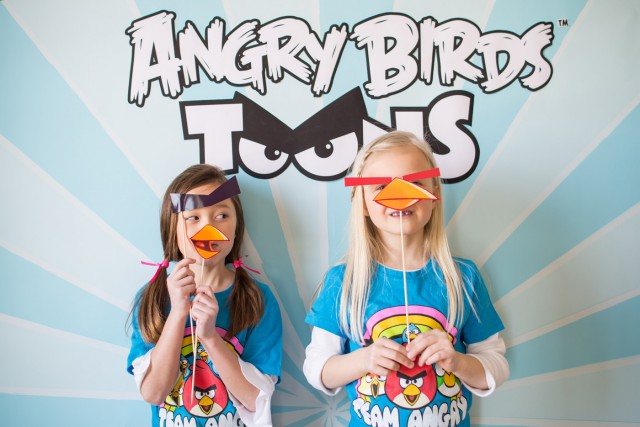 angry birds party activities