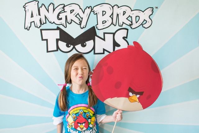 angry birds photobooth