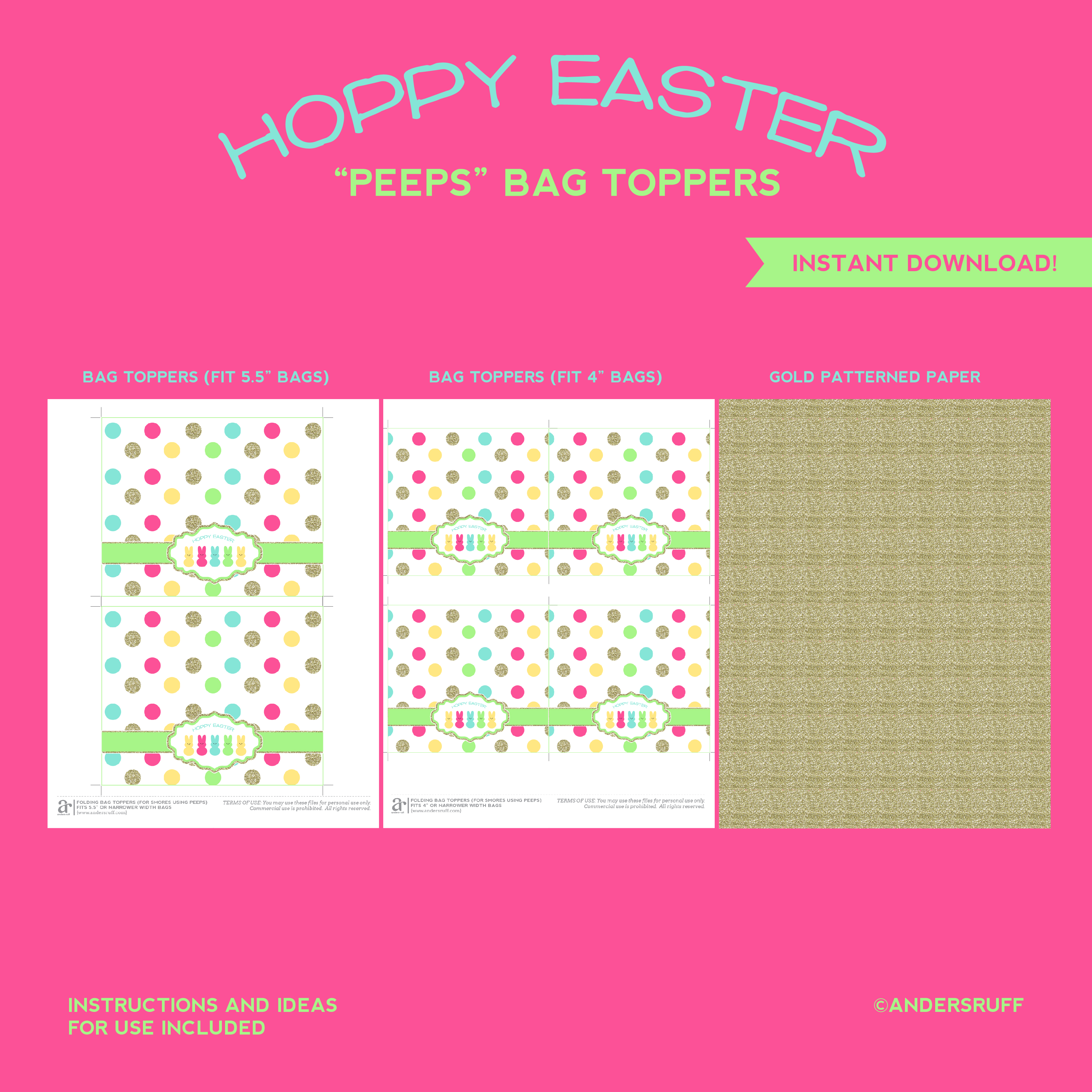 for your easter s mores kits or any other embellishments