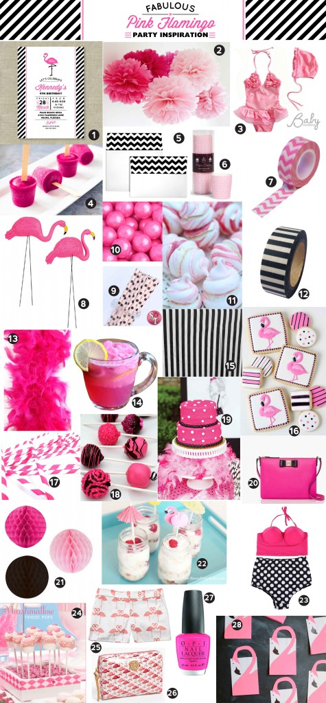 flamingo party ideas