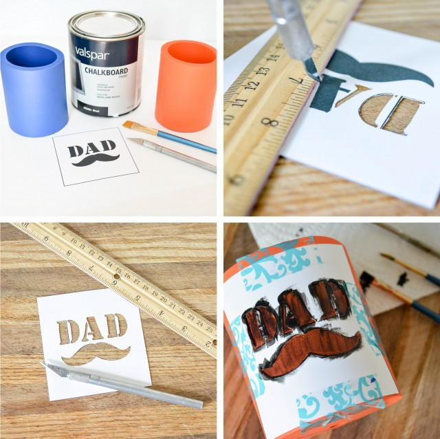 diy beer coozie for dads