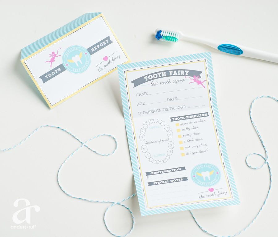 New letter from the tooth fairy printables anders ruff for Free printable tooth fairy letter template