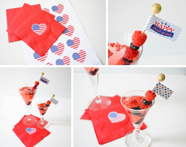 Creating the perfect 4th of July Cocktail