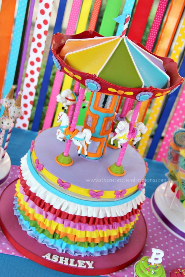 Cake Ideas For A Carnival Birthday Party Prezup for