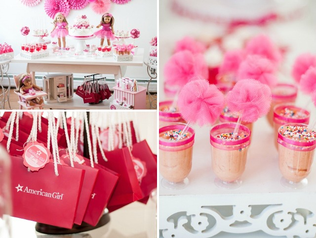 An American Girl Party in Shades of Pink - Anders Ruff Custom Designs ...