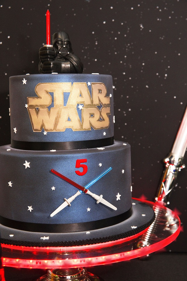 Images Of A Star Wars Cake : Star Wars Party by Kiss With Style - Anders Ruff Custom ...