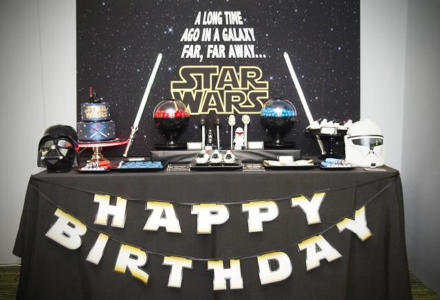 Decor Anniversaire Star Wars