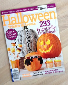 halloween magazine article