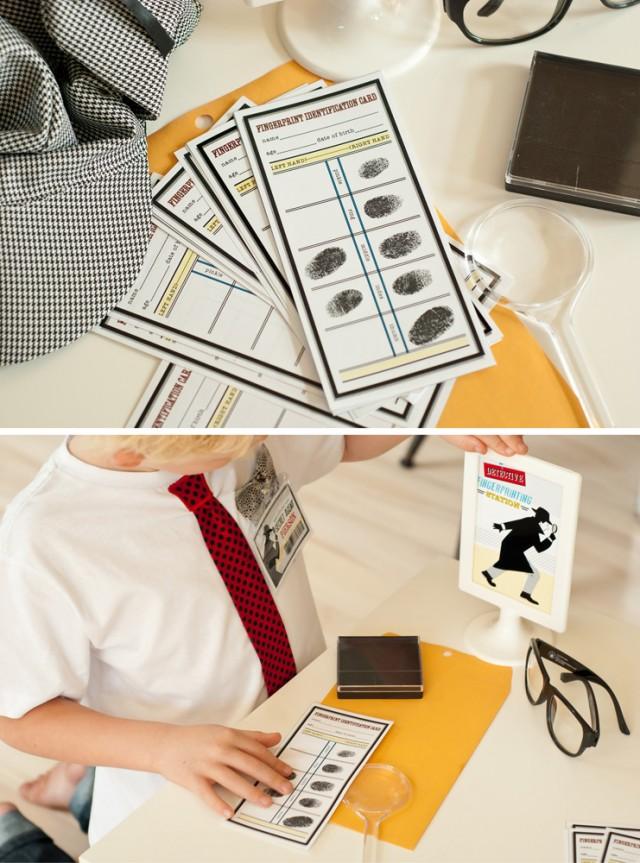 fingerprinting activity