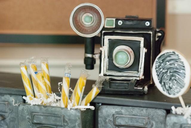 vintage camera props