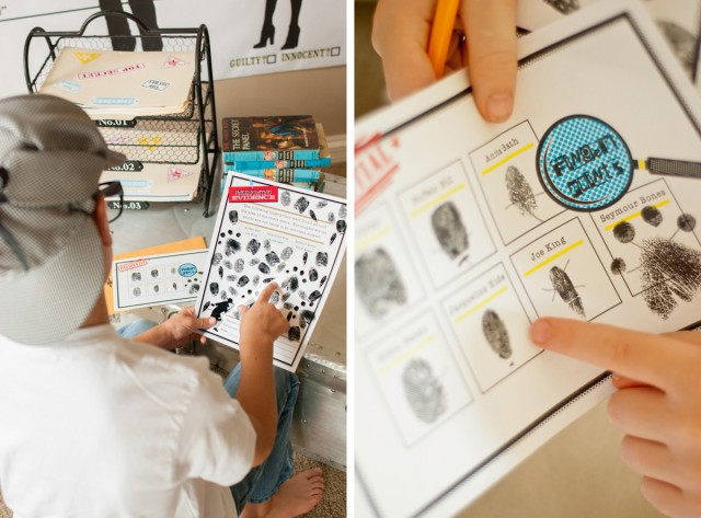 detective game printables