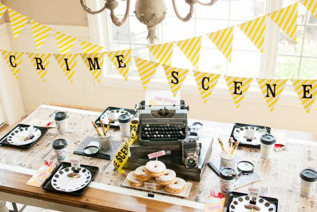 Jeffrey S Vintage Detective Party Anders Ruff Custom