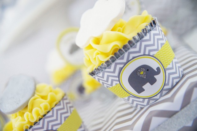elephant cupcake wrappers