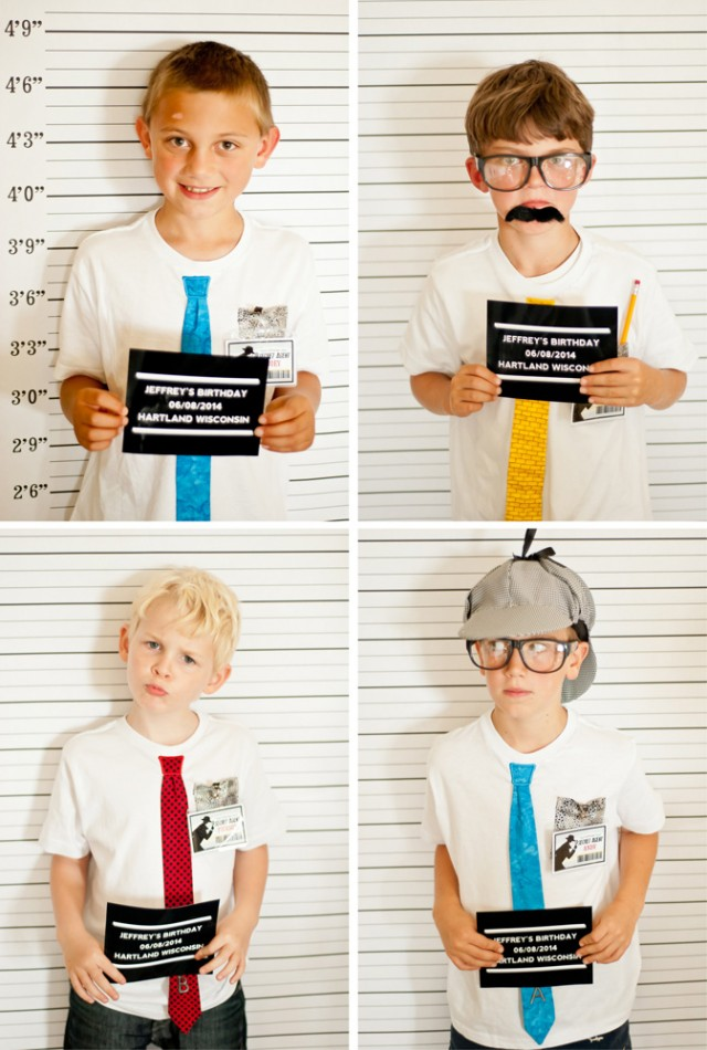 mug shot photobooth