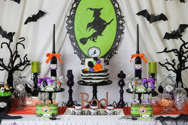 wicked halloween party decorations
