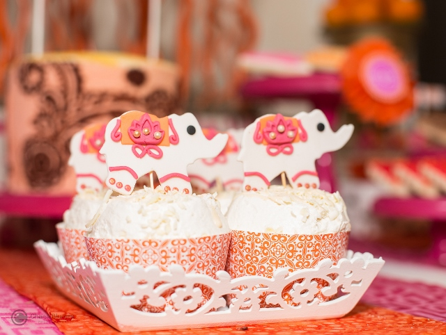 Indian-Inspired-Cupcakes-Elephant-Topper