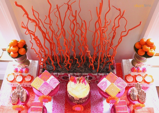 Indian-Themed-Party-Dessert-Table