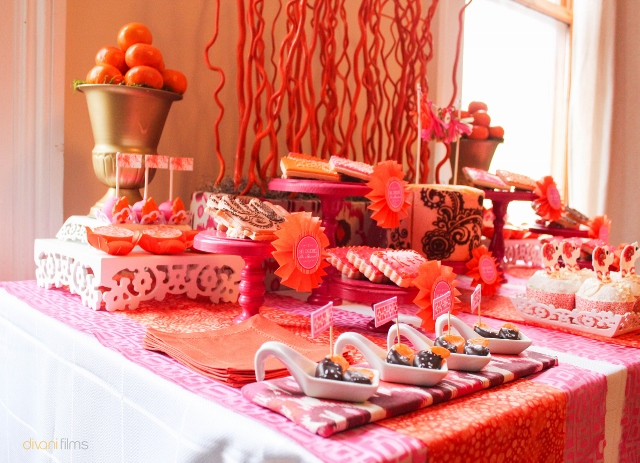 Indian-Themed-Party-Set-Up-Display-Dessert-Table