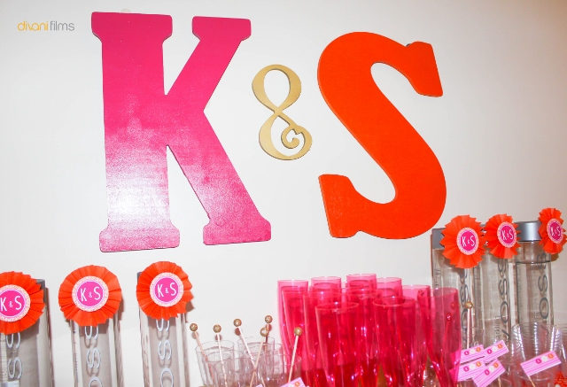 Wall Decorations For Engagement Party : Anders ruff indian themed engagement party