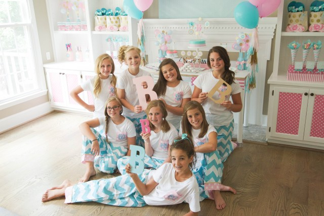 Monogram Tween Slumber Party