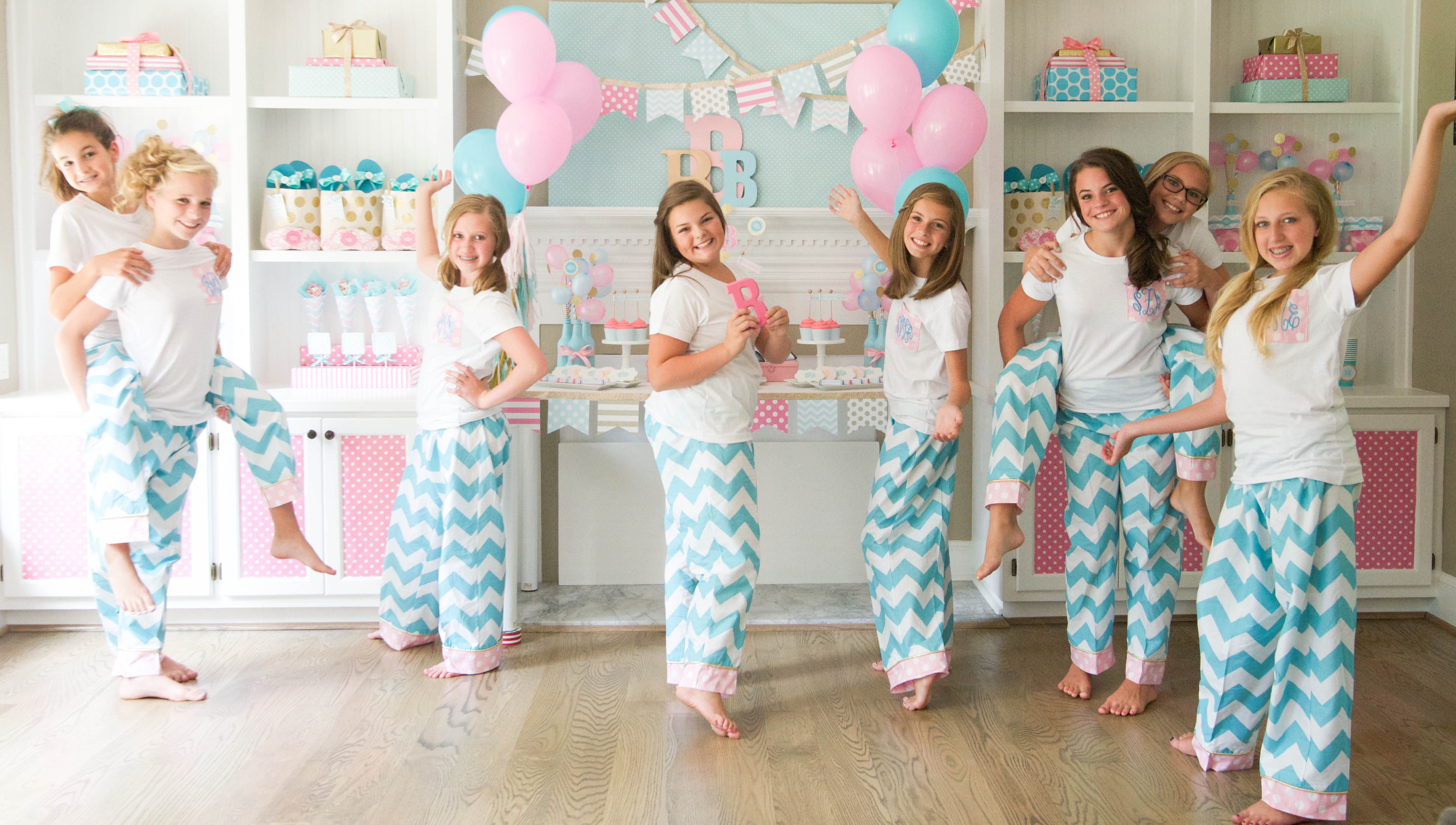 Young girl slumber party ideas car tuning